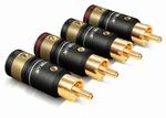 T6S RCA plugs 2 Pairs