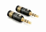 T6s PHONO PLUGS STEREO 3.5 MM SMALL 2 Pieces